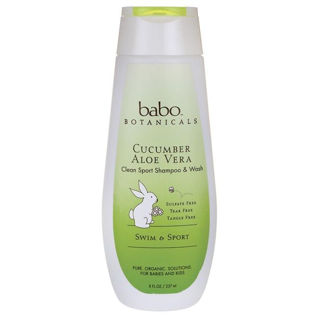 Babo BotanicalsClean Sport Shampoo & Wash - Cucumber Aloe Vera