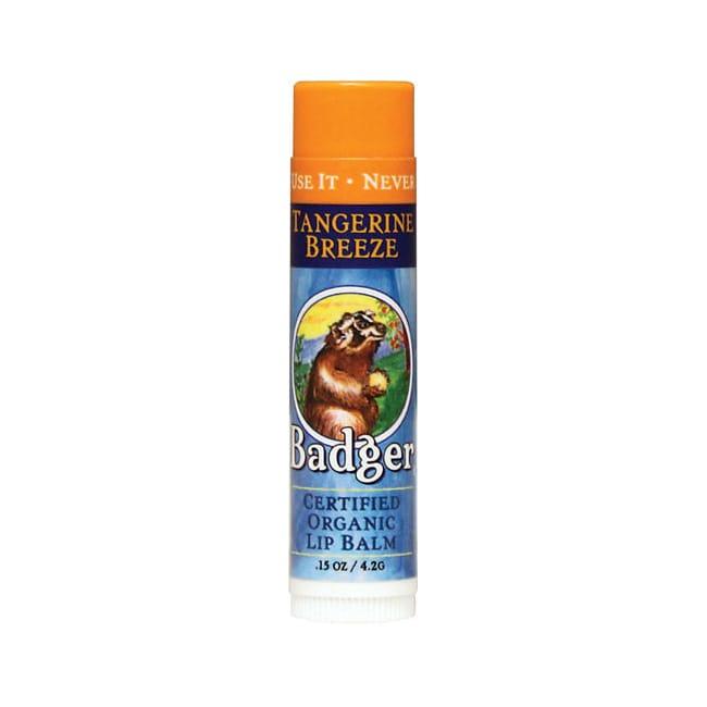 Badger Organic Lip Balm Tangerine Breeze