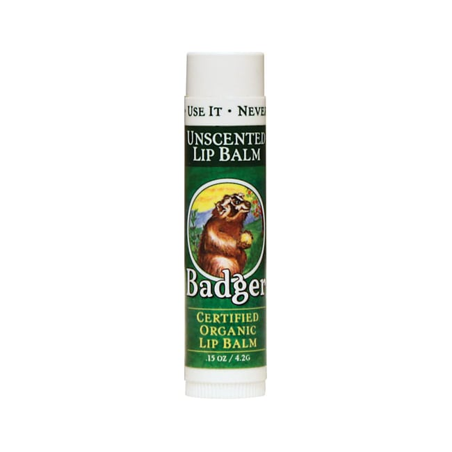 BadgerOrganic Lip Balm Unscented