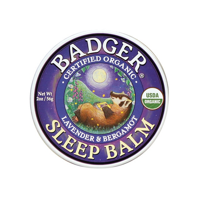 BadgerOrganic Sleep Balm Lavender and Bergamot