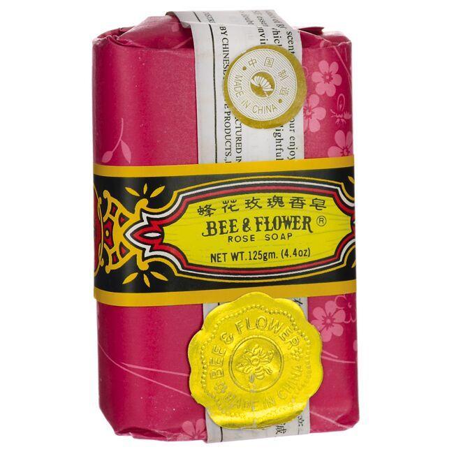 Bee & FlowerRose Soap