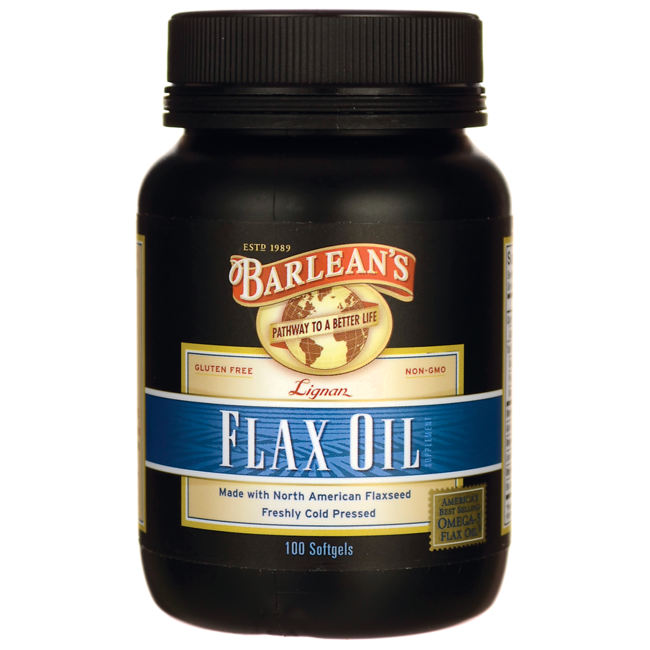 Barlean's Highest Lignan Flax Oil