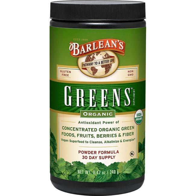Barlean'sOrganic Greens