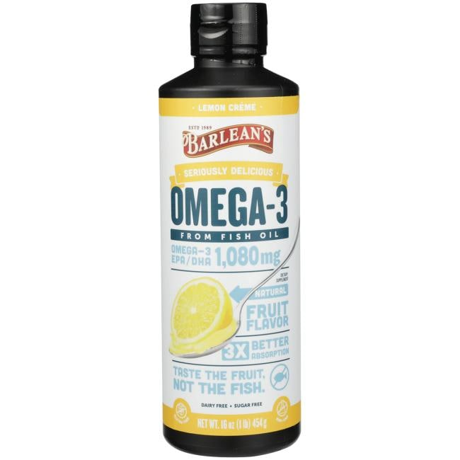 Barlean'sOmega-3 - Lemon Creme