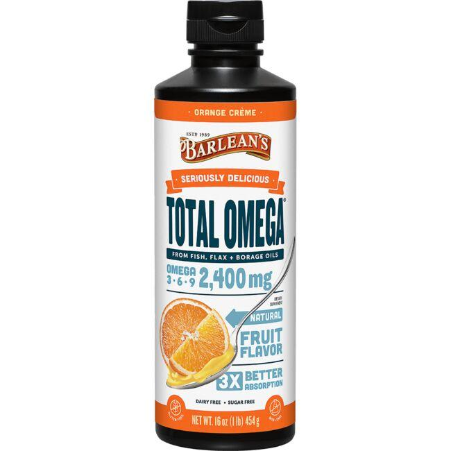 Barlean's Seriously Delicious Total Omega - Orange Creme