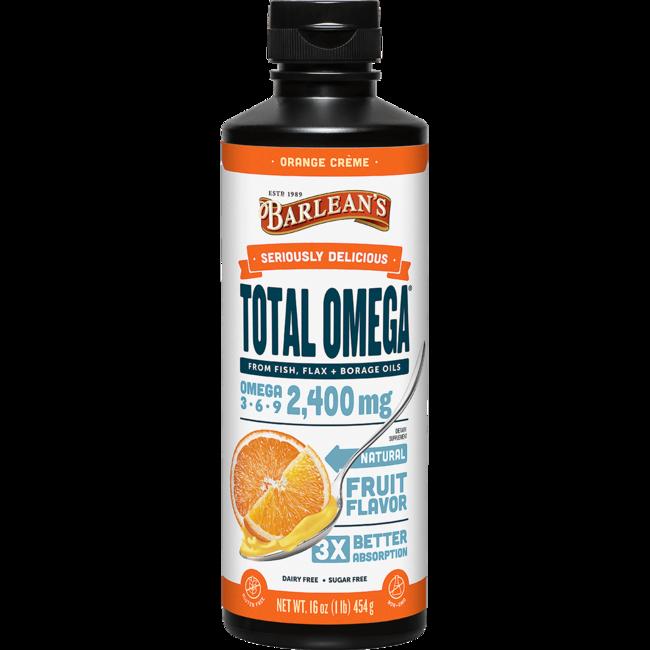 Barlean's Total Omega Swirl Orange Cream