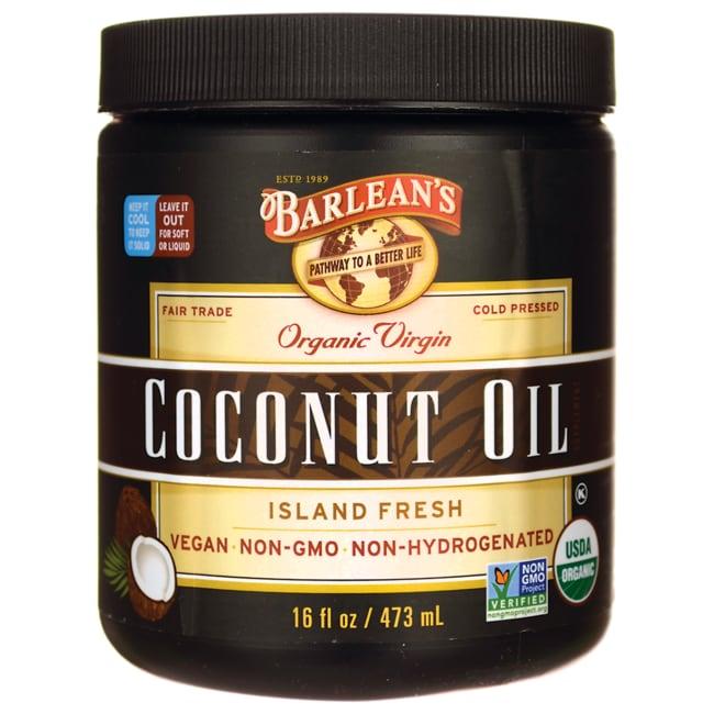 Barleans coconut oil