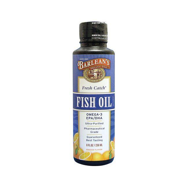 Barlean'sFresh Catch Fish Oil Omega-3 EPA/DHA Orange Flavor