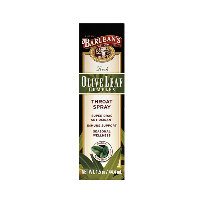Barlean'sOlive Leaf Complex Throat Spray