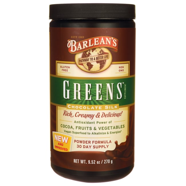 Barlean's Greens Chocolate Silk