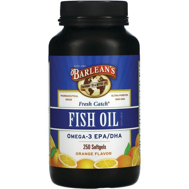 Barlean's Fish Oil Orange Flavor