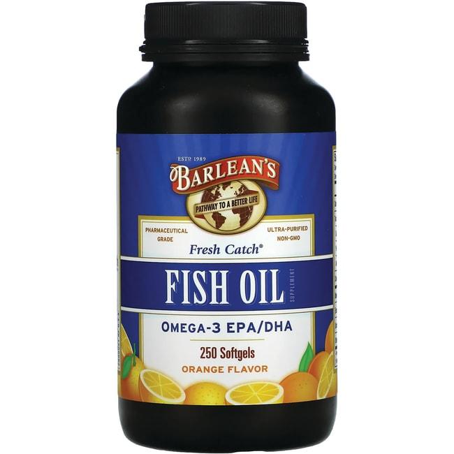 Barlean's Fish Oil Orange Flavor