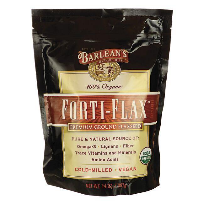 Barlean'sOrganic Forti-Flax Premium Ground Flaxseed