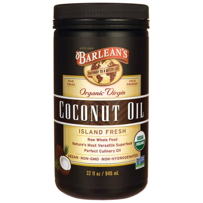 Barlean's Organic Extra Virgin Coconut Oil