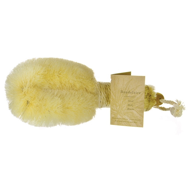 BaudelaireSisal Body Brush