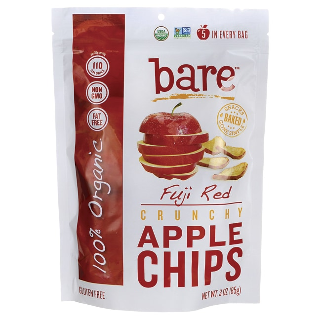 Bare FruitCrunchy Fuji Red Apple Chips