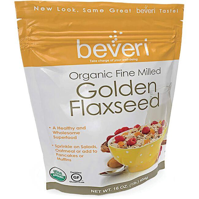 Beveri Organic Golden Flaxseed Fine Milled