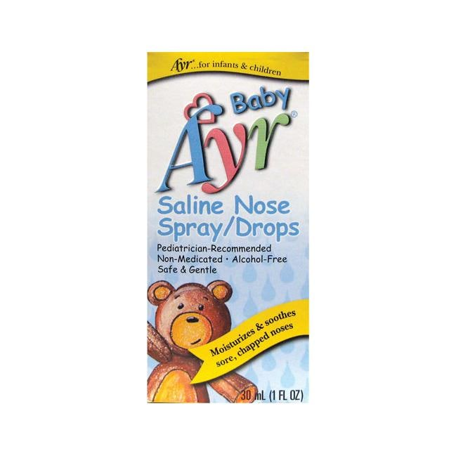 Ayr Baby Saline Nose Spray