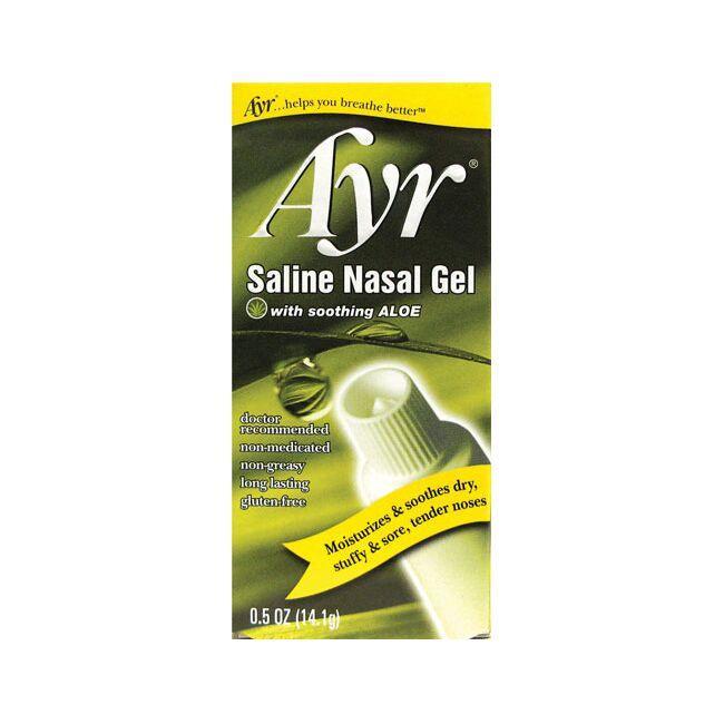 AyrSaline Nasal Gel with Aloe