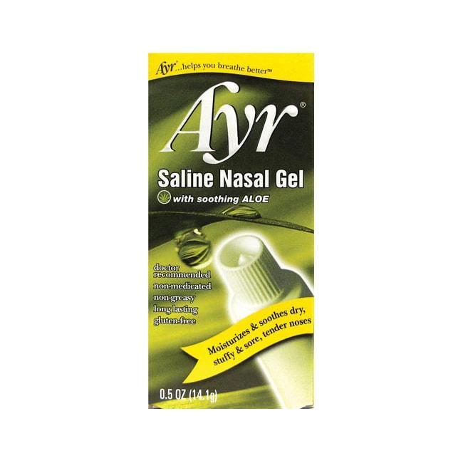 Ayr Saline Nasal Gel with Aloe