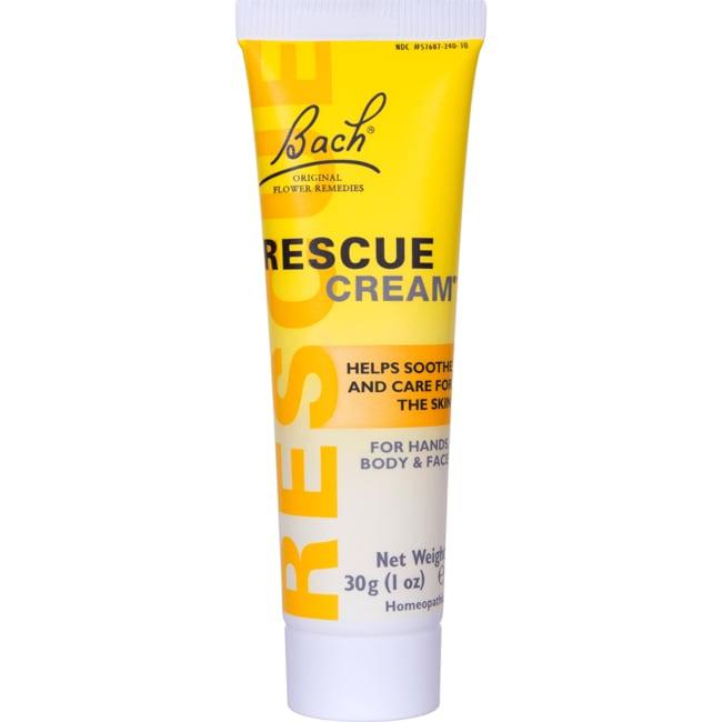 Bach Flower Essences Rescue Cream