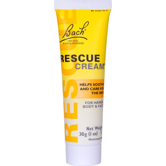 Bach Flower Essences Rescue Cream 30 Grams Cream Swanson