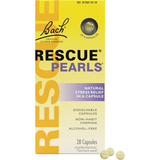Bach Flower Essences Rescue Pearls