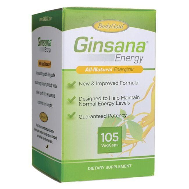 Body Gold Ginsana Energy