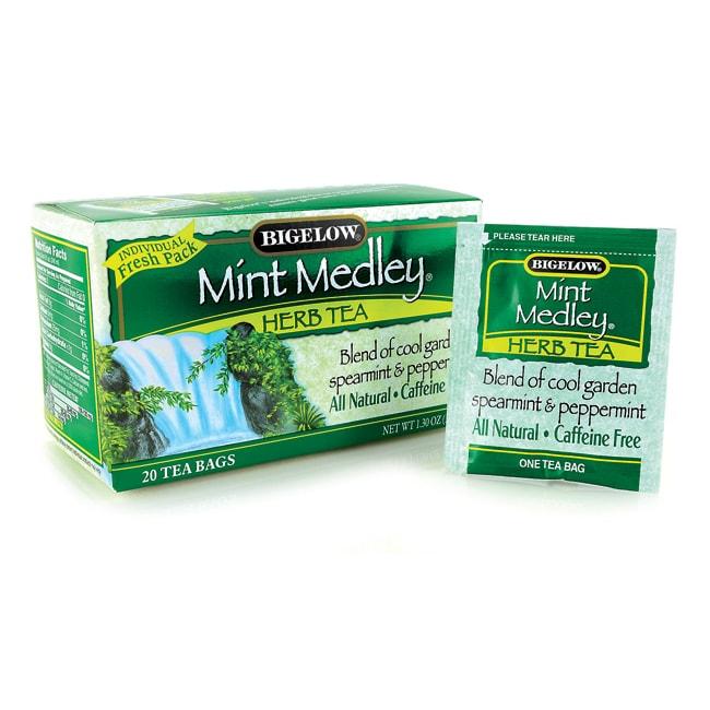 Bigelow Tea Mint Medley Herb Tea Spearmint & Peppermint