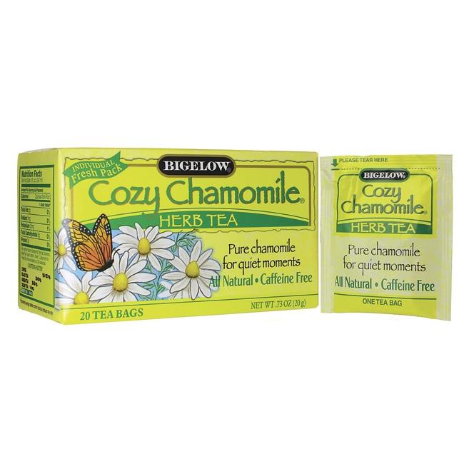 Bigelow Tea Caffeine Free Herb Tea - Cozy Chamomile