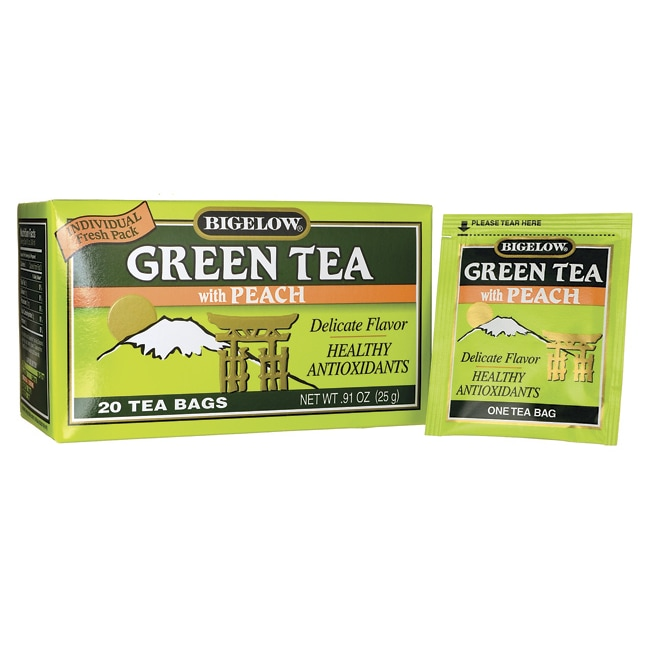 Bigelow TeaGreen Tea with Peach