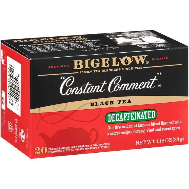 Bigelow Tea Black Tea-Constant Comment with Oranges & Sweet Spice Decaf