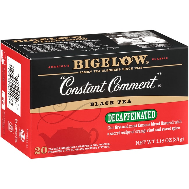 Bigelow TeaBlack Tea-Constant Comment with Oranges & Sweet Spice Decaf