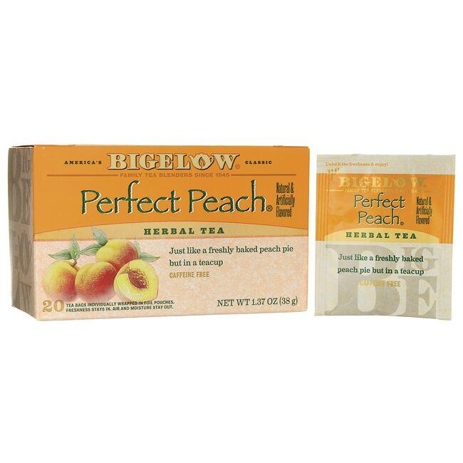 Bigelow TeaPerfect Peach Herb Tea - Caffeine Free