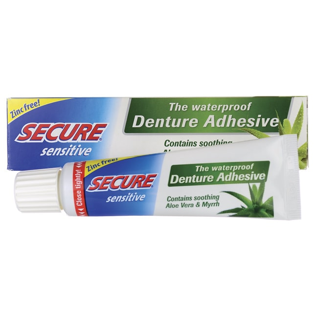 Secure Denture Adhesive >> Bioforce/A.Vogel Secure Sensitive Denture Adhesive 1.4 oz Cream - Swanson Health Products