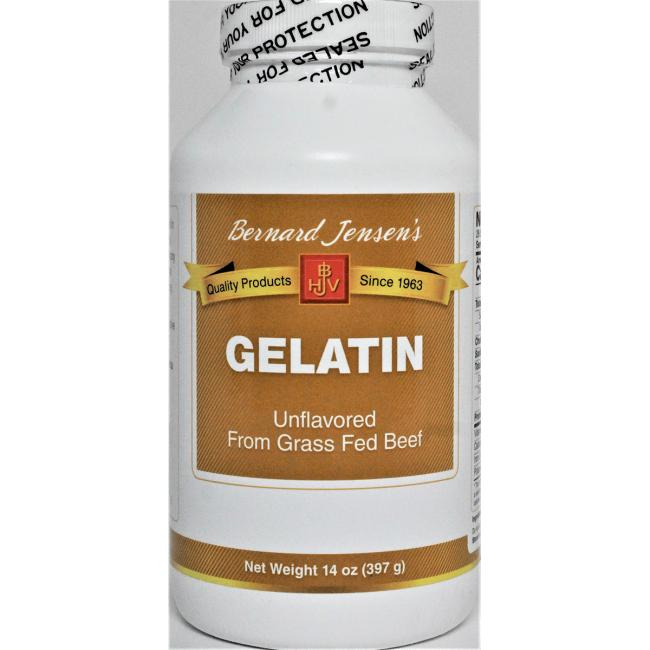 Bernard Jensen100% Bovine Gelatin