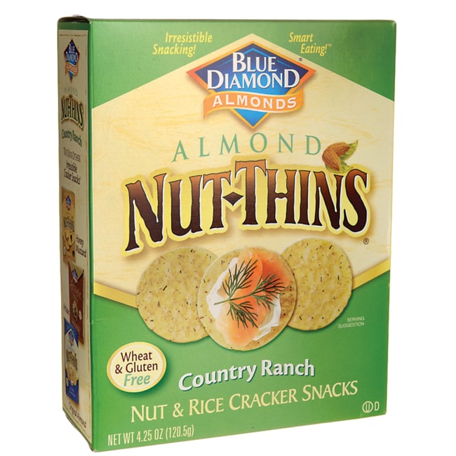 Blue DiamondAlmond Nut-Thins Country Ranch