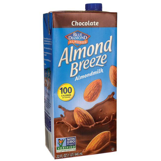 Blue Diamond Almond Milk - Almond Breeze Chocolate