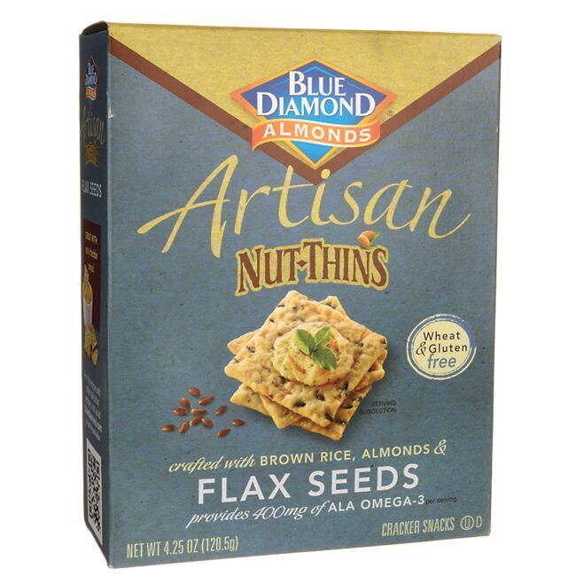 Blue DiamondArtisan Nut-Thins - Flax Seeds