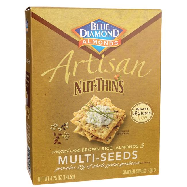 Blue diamond artisan nut thins