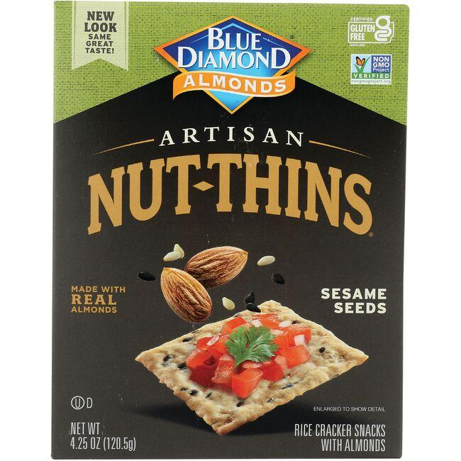 Blue Diamond Artisan Nut-Thins - Sesame Seeds