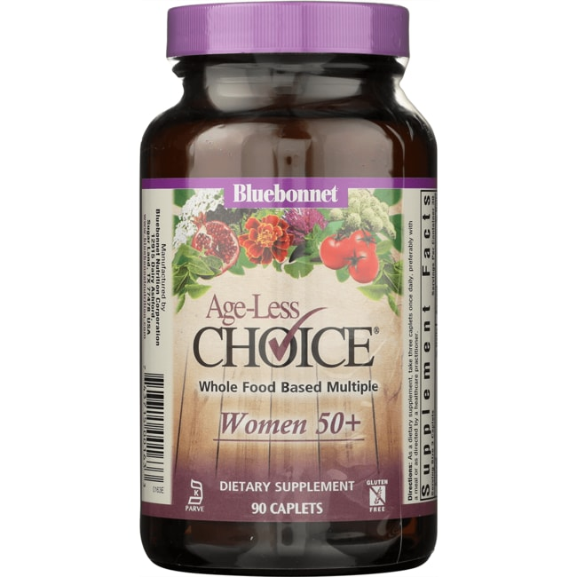 Bluebonnet NutritionAge-Less Choice Whole Food Based Multiple Women 50+