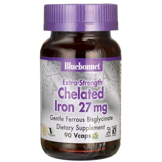 Bluebonnet Nutrition Extra-Strength Chelated Iron