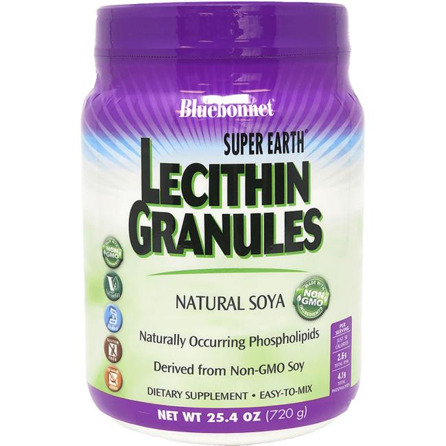 Bluebonnet Nutrition Super Earth Lecithin Granules