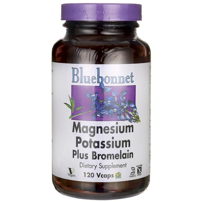 Bluebonnet NutritionMagnesium Potassium Plus Bromelain