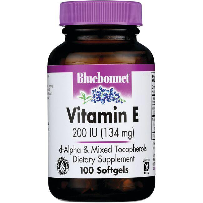 Bluebonnet Nutrition Natural Vitamin E