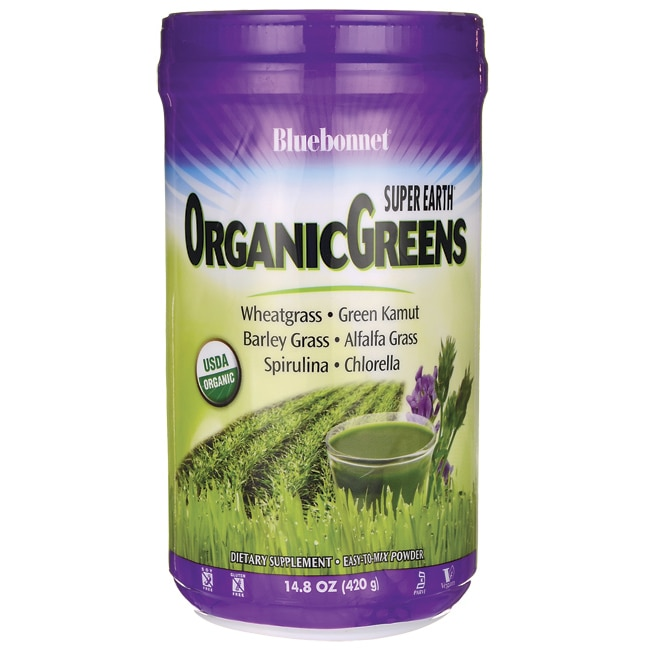 Bluebonnet NutritionSuper Earth OrganicGreens