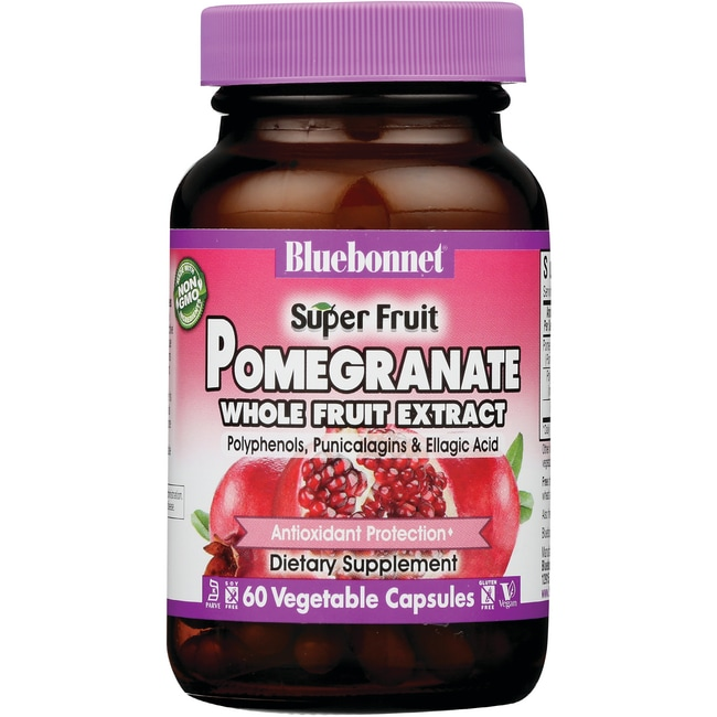 Bluebonnet NutritionSuper Fruit Pomegranate Whole Fruit Extract