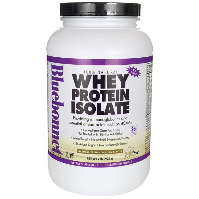 Bluebonnet NutritionWhey Protein Isolate - French Vanilla
