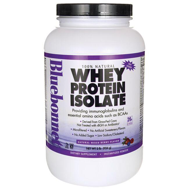 Bluebonnet Nutrition Whey Protein Isolate - Mixed Berry